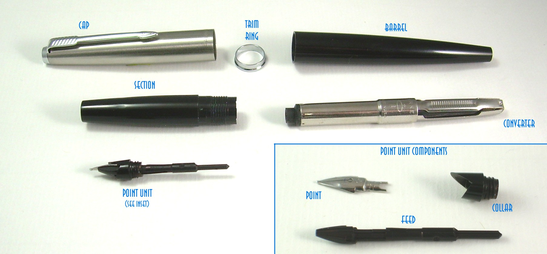 Leaky Parker 45 - Parker - The Fountain Pen Network