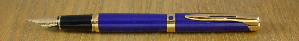 Waterman L'Etalon in blue lacquer